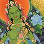 Buda Tara Verde